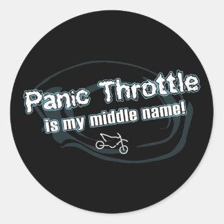 Panic Throttle Sticker