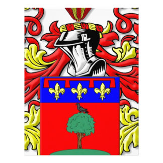 Paniccia Coat of Arms Letterhead Design