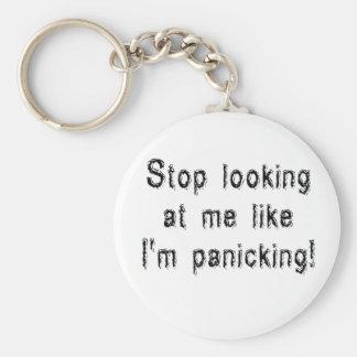 Panicking Key Chain