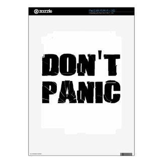 pánico calcomanía para iPad 2