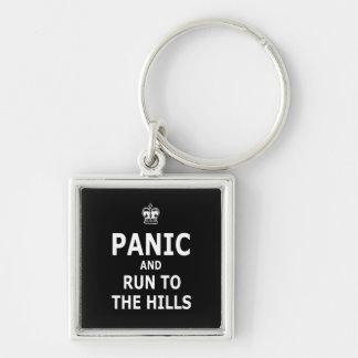 Pánico Llavero Personalizado