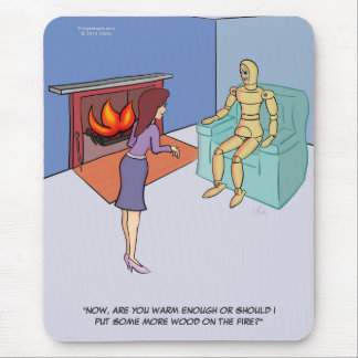Pánico Mousepad del fuego
