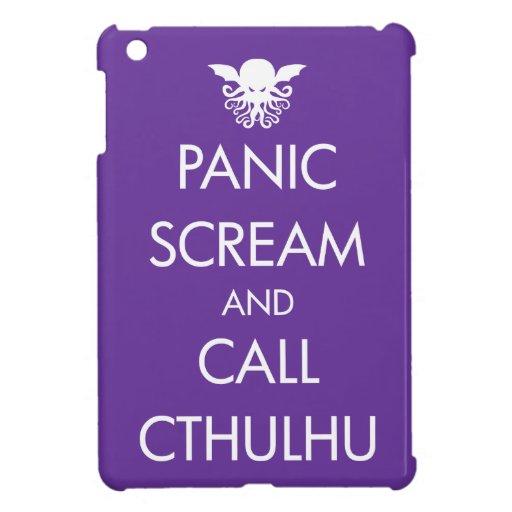Pánico y llamada Cthulhu del grito