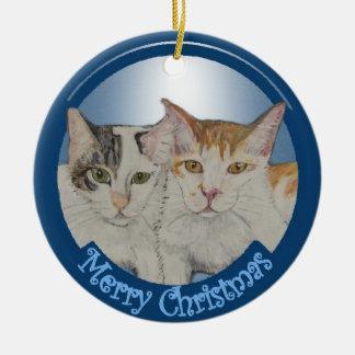 Panin & Lemu Christmas Ornament