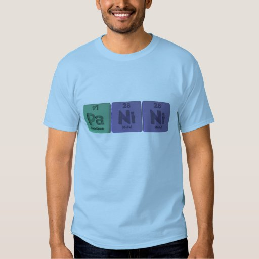 Panini-Pa-Ni-Ni-Protactinium-Nickel-Nickel.png T-Shirt