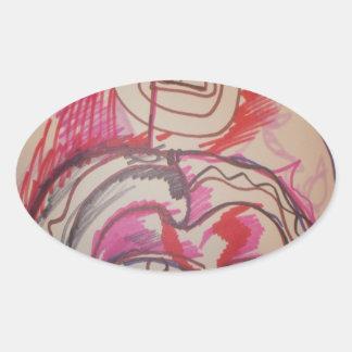 PanIntra Modality Oval Sticker