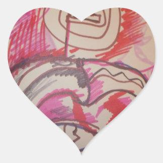 PanIntra Modality Heart Sticker