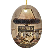 Paniolo Love Christmas Ceramic Ornament