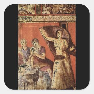 Panisca Nourishing', National_Art of Antiquity> Square Sticker