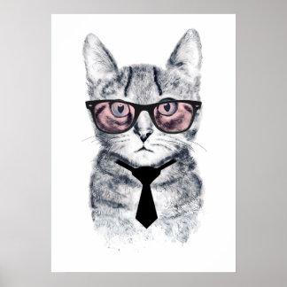 Panka's Smart Cat Poster