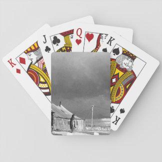 Panmunjom, Korea_War Image Playing Cards