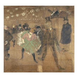 Panneaux pour Baraque de Goulue Toulouse-Lautrec Photograph