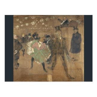 Panneaux pour Baraque de Goulue Toulouse-Lautrec Postcard