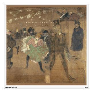 Panneaux pour Baraque de Goulue Toulouse-Lautrec Wall Decal
