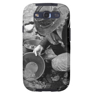 Panning for Gold Black and White Samsung Galaxy SIII Case