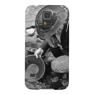 Panning for Gold Black and White Galaxy Nexus Cases