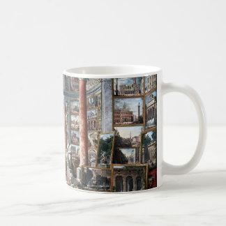 Pannini - galería de vistas de Roma moderna Taza De Café