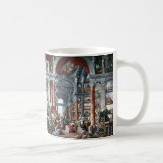 Pannini - Gallery of Views of Modern Rome Coffee Mug