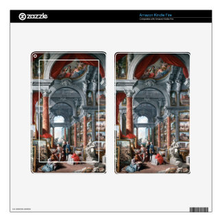 Pannini - Gallery of Views of Modern Rome Kindle Fire Decals