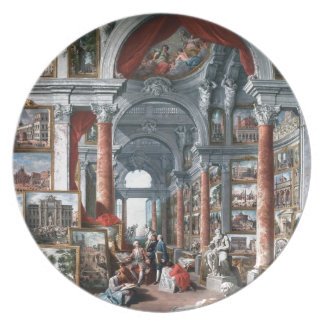 Pannini - Gallery of Views of Modern Rome Plates