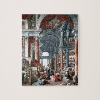 Pannini - Gallery of Views of Modern Rome Jigsaw Puzzles