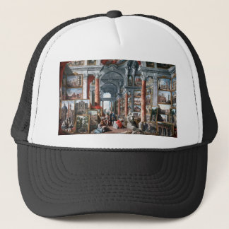 Pannini - Gallery of Views of Modern Rome Trucker Hat