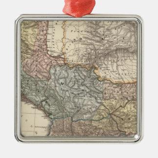 Pannonia, Illyricum, Dacia, Moesia Adorno Cuadrado Plateado