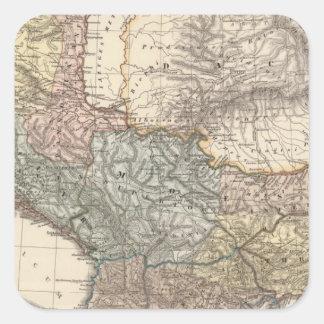 Pannonia, Illyricum, Dacia, Moesia Pegatina Cuadrada