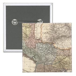 Pannonia, Illyricum, Dacia, Moesia Pin Cuadrada 5 Cm