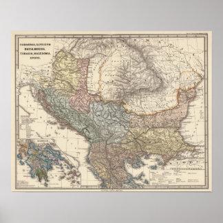 Pannonia, Illyricum, Dacia, Moesia Posters