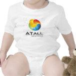 Paño 2 del bebé de ATALL Camiseta