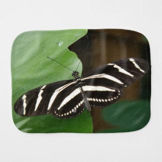 Paño bonito del Burp de la mariposa de Longwing de Paños Para Bebé