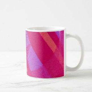 paño coloreado tazas de café