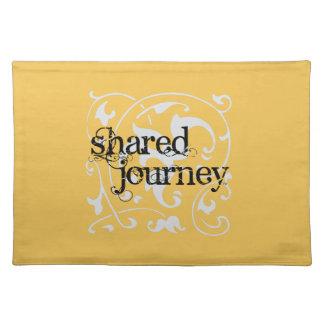 Paño compartido Placemat del viaje Manteles Individuales