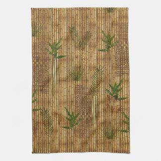 Paño de bambú del Tapa Toalla De Mano