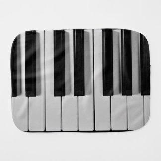 Paño de encargo del Burp del bebé del teclado de Paños De Bebé