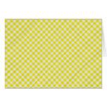 paño de mesa de picnic amarillo felicitacion
