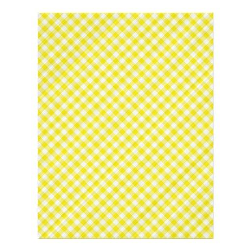 paño de mesa de picnic amarillo flyer personalizado