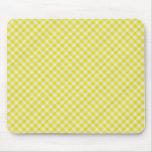 paño de mesa de picnic amarillo alfombrilla de ratones