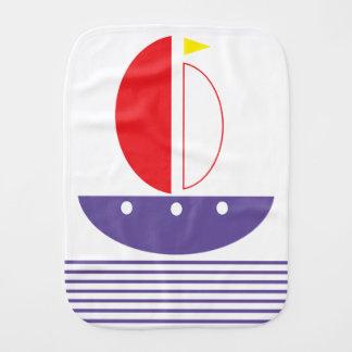Paño del barco y del Burp de las tiras Paños Para Bebé