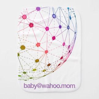 """paño del Burp de """"baby@wahoo.mom"""" Paños Para Bebé"""