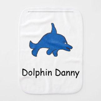 Paño del Burp de Danny del delfín Paños Para Bebé