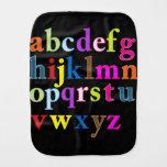 Paño del Burp del alfabeto Paños De Bebé