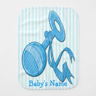 Paño lindo del Burp del bebé del traqueteo del beb Paños Para Bebé