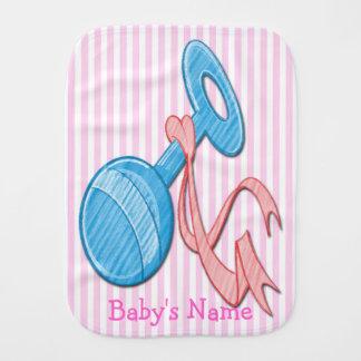 Paño lindo del Burp del bebé del traqueteo del beb Paños De Bebé