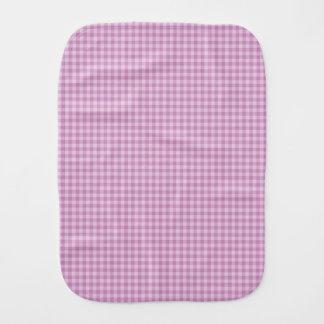 Paño púrpura del Burp de los controles Paños Para Bebé