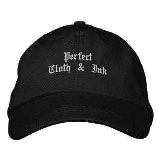 Paño y tinta perfectos gorra de beisbol