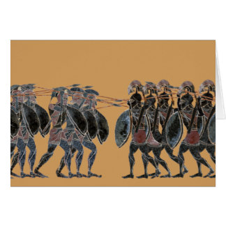 Panoply - Ancient Greek hoplite battle line Card
