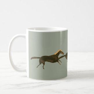 Panoply - Galloping ancient Greek horses Coffee Mug