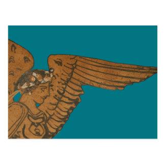 Panoply - The Greek goddess Nike close-up Postcard